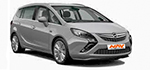 Rent a car Sofia Bulgaria - new OPEL Zafira Tourer D, 2017
